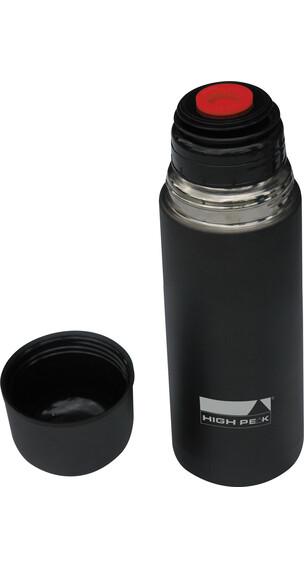 High Peak Thermoflasche 500ml Edelstahl schwarz